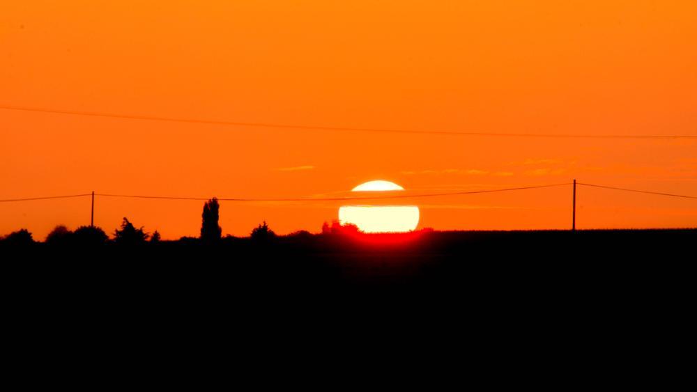 Photo in Landscape #sunset #soleil #france #summer