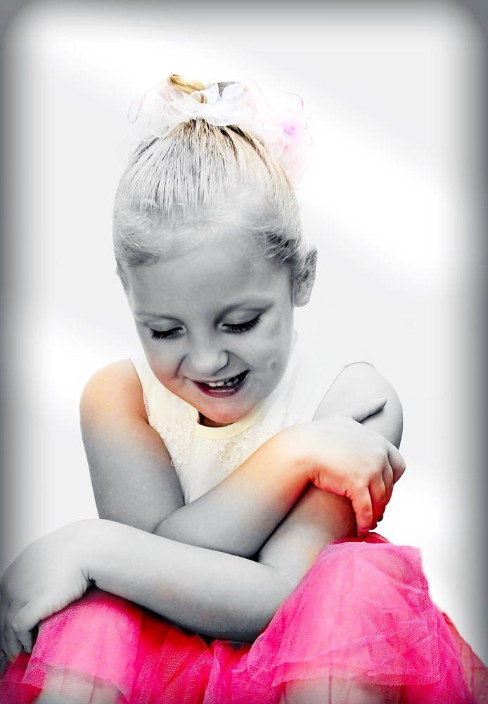 Photo in People #colourpop #children #kids #pink #black&white