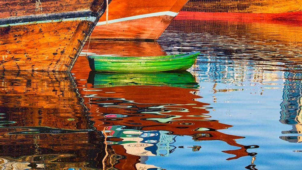 Photo in Vehicle #dubai #creek #dhow #tradition #reflection