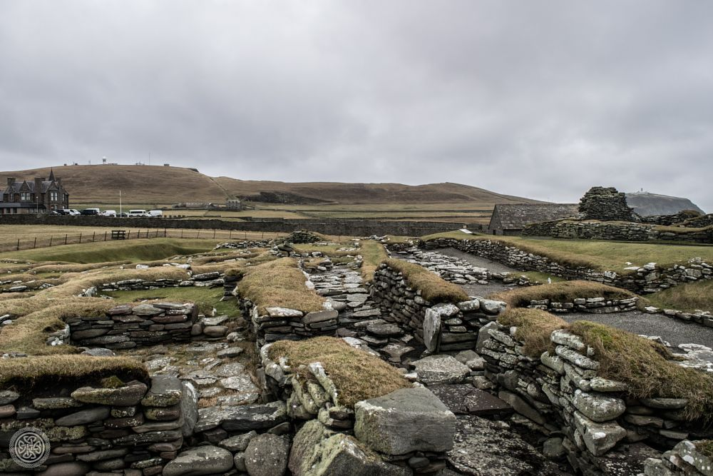 Photo in Landscape #viking #shetland #uk #scotland #ruins