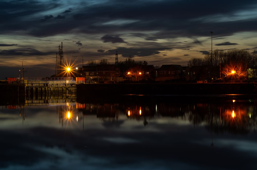 Photo in Landscape #night #sunset #docks