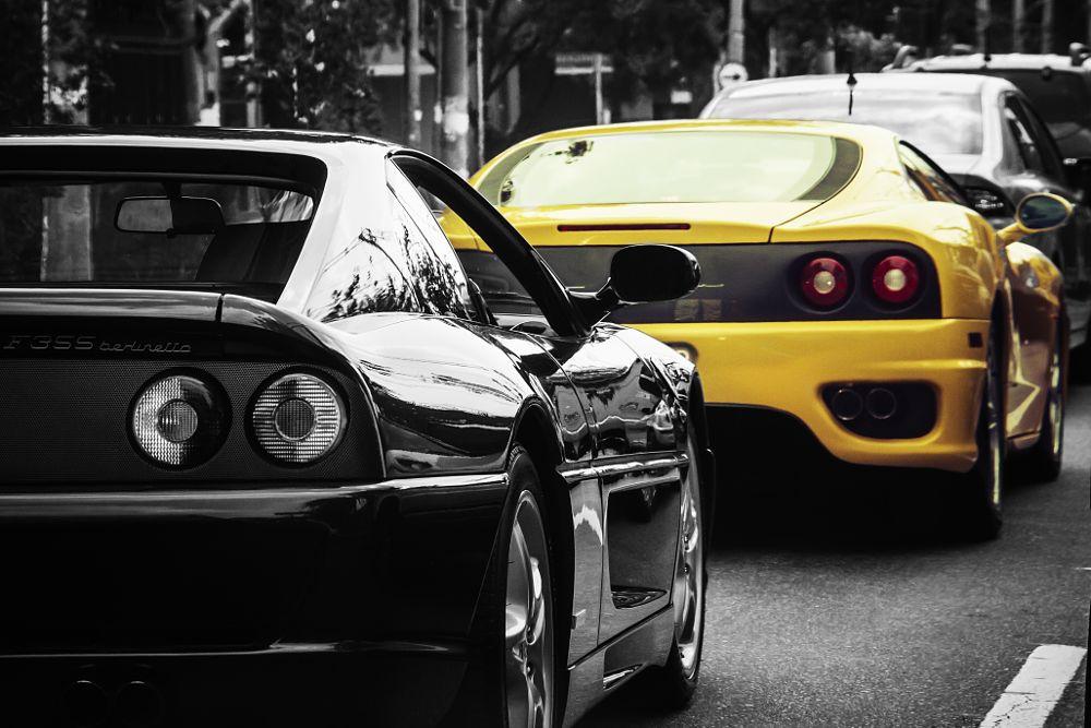 Photo in Street Photography #carros #ferrari #f355 #berlinetta #street #rodas #street photography #rua #velocidade #modena #360