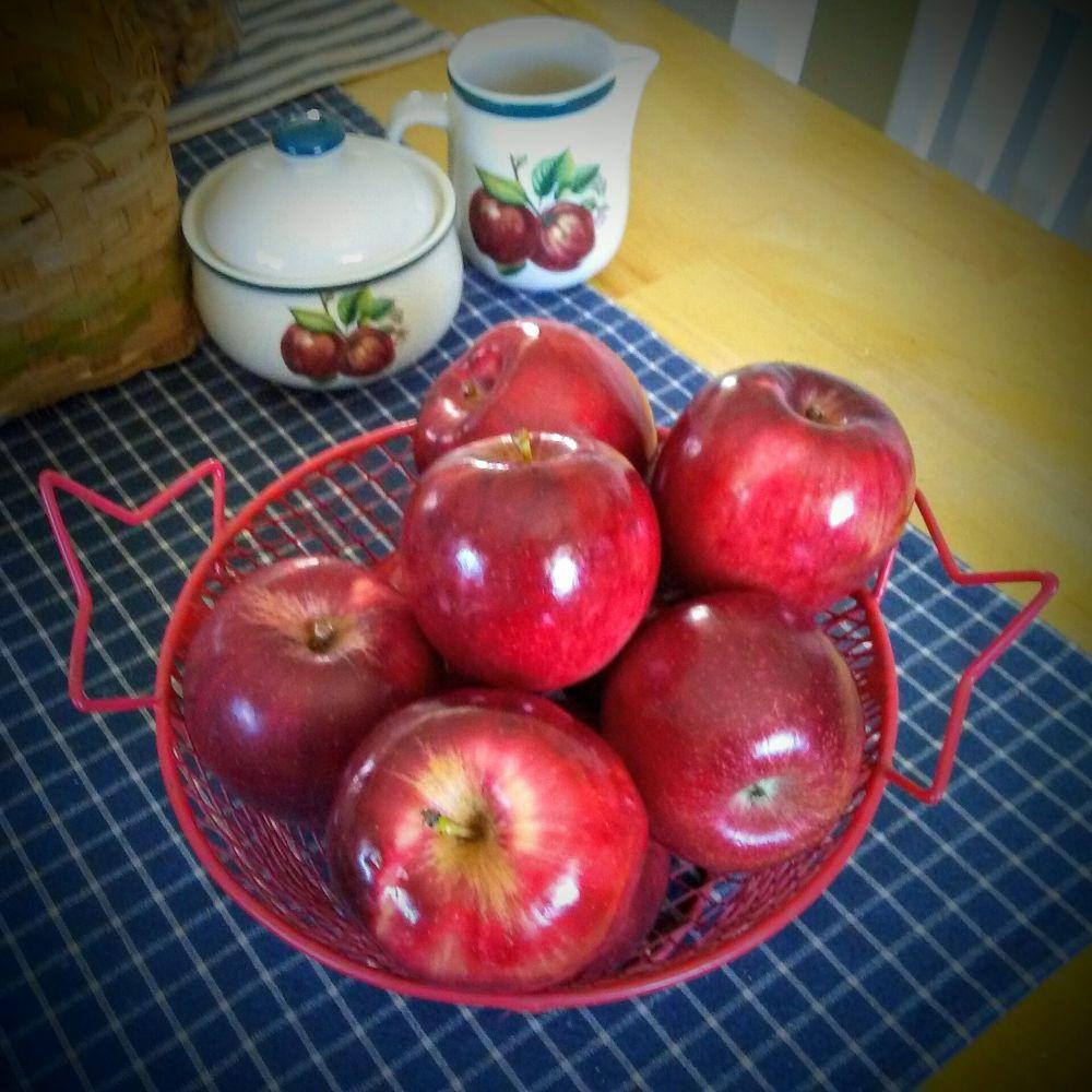 Photo in Random #apples red bright shiny