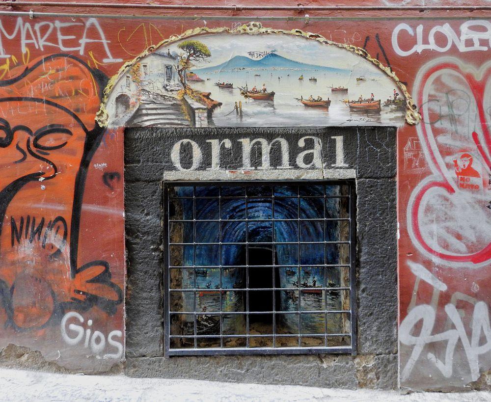 Photo in Street Photography #orma1 #street art #naples #vulcano #volcano #vesuvius #vesuvio #arnaldo de lisio #door #porta #graffiti #panorama #landscape #hip hop #pop art #murales #writer #blue grotto #grotta azzurra #capri