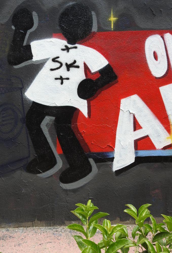 Photo in Street Photography #omino ange #street art #fuorigrotta #naples #fuorigrotta #arnaldo de lisio #mural #murales #pop art #hip hop #graffiti #writer #napoli #peso #bulbo #erot