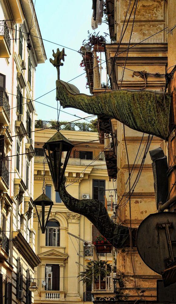 Photo in Fine Art #installazione #installation #scultura #sculpture #statue #statua #contemporary art #arte contemporanea #riccardo dalisi #rua catalana #hdr #hdri