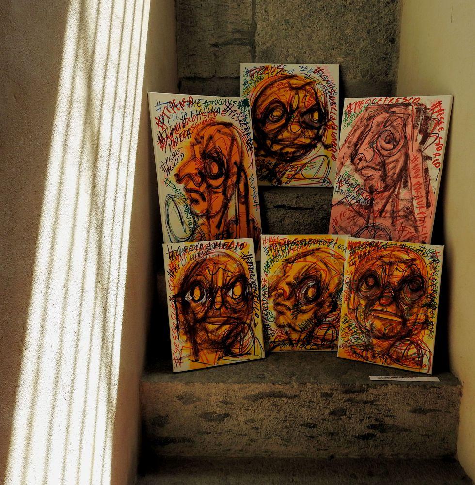 Photo in Fine Art #barbara ardau #mimmo di caterino #lineadarte #maschio angioino #napoli #naples #gennaro ippolito #giovanna donnarumma #officina creativa #arnaldo de lisio #ex libris #erotismo #arte contemporanea #contemporary art #conceptual art #arte concettuale #pop art #erotic