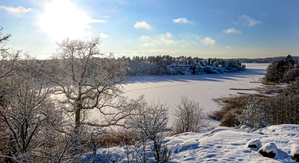 Photo in Landscape #vintervik #snö #vinter #värmdö #grills udde #motljus #canonfreak #ola sköld