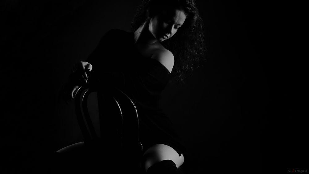 Photo in Random #model  blackandwhitephotograp