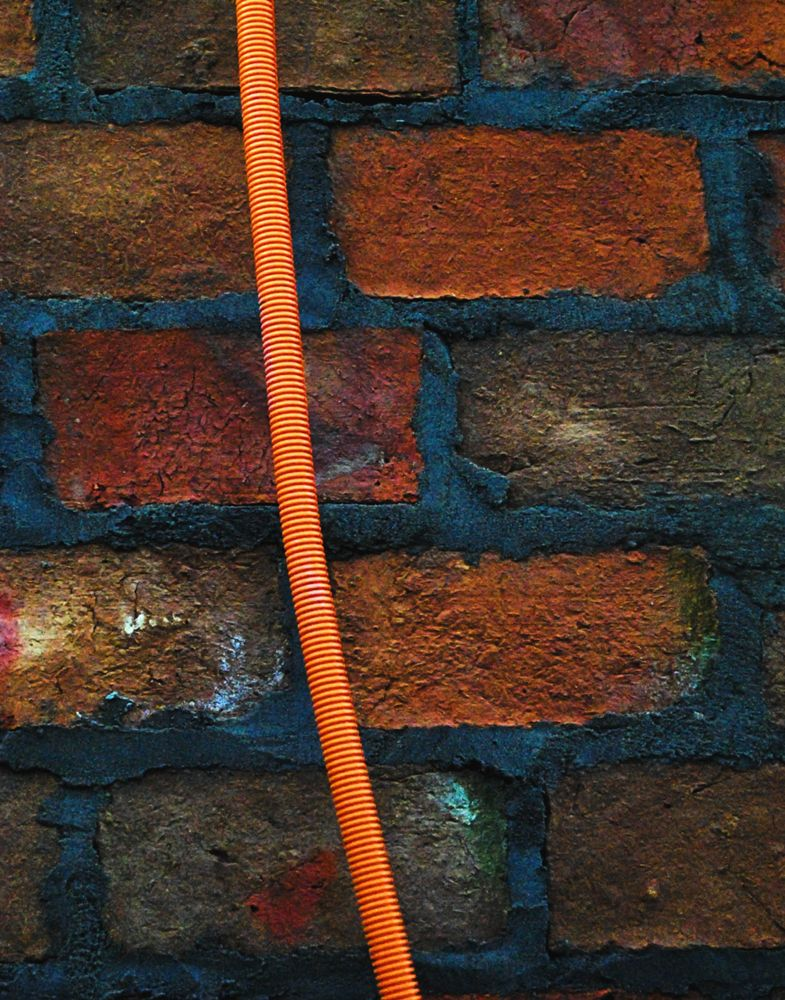 Photo in Abstract #wall #abstract #orange #close-up