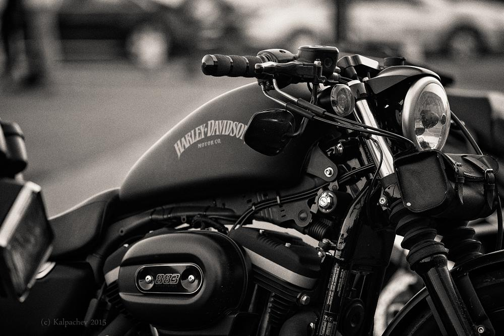 Photo in Black and White #harley #harley davidson #motorcycle #ace cafe #ace cafe london #black and white