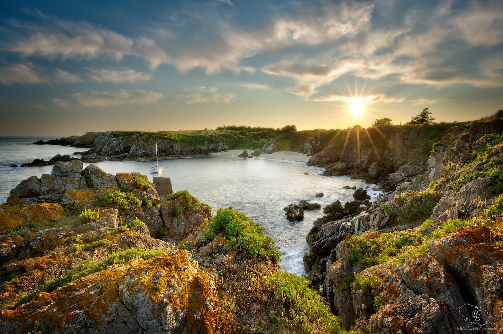Photo in Landscape #sea #seascape #sunset #île d'yeu #beach #landscape