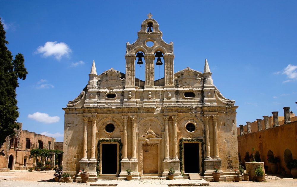 Photo in Architecture #convent #old #abby #greece #crete