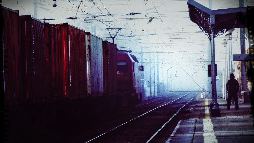 Photo in Street Photography #granja #station #train