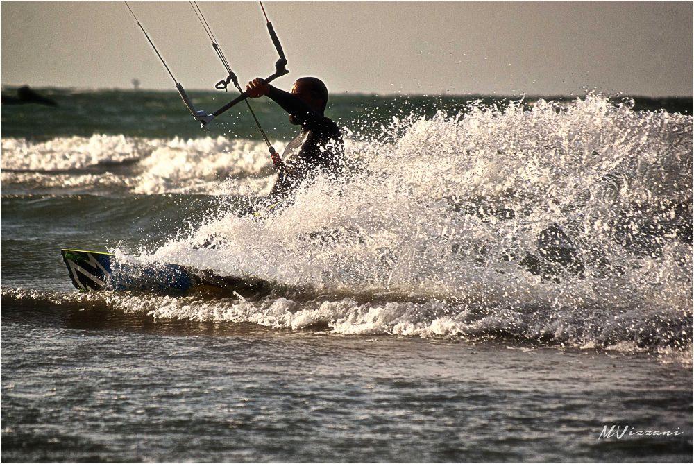 Photo in Sports #kitesurfing #pentax #k10d #vizzani #matteo #pentaxk10d #pentax k10