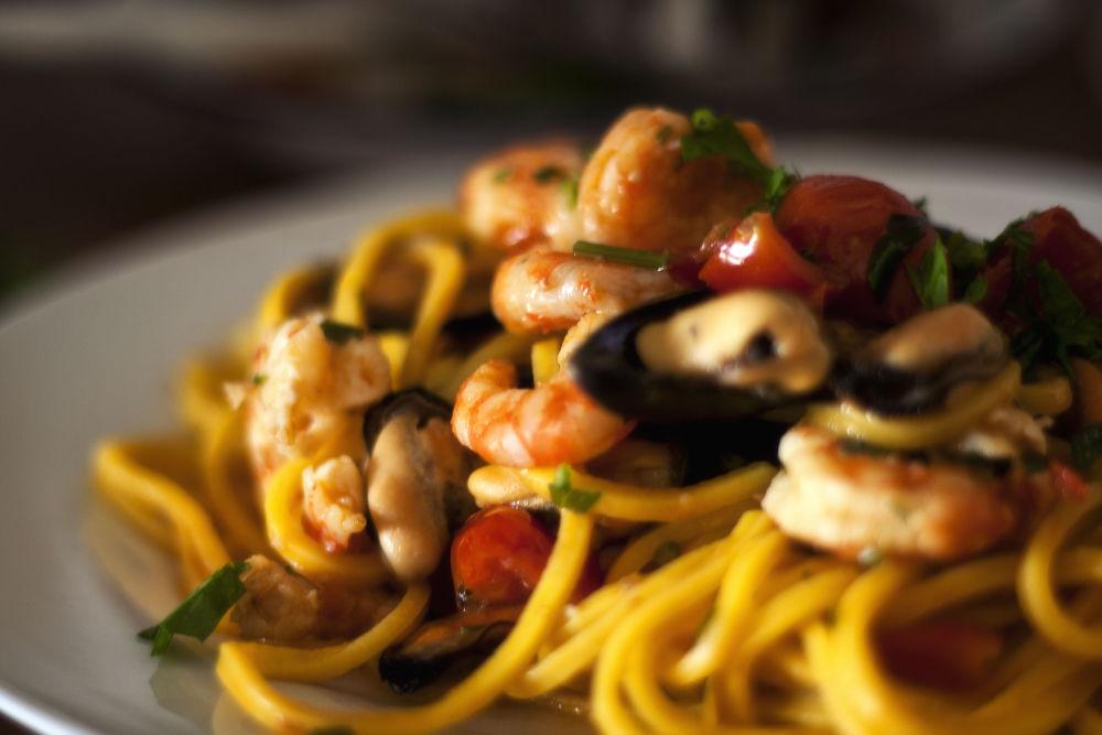 Photo in Random #food #sea #italian food #spaghetti #vizzani #matteo #pentaxk10d #pentax k10