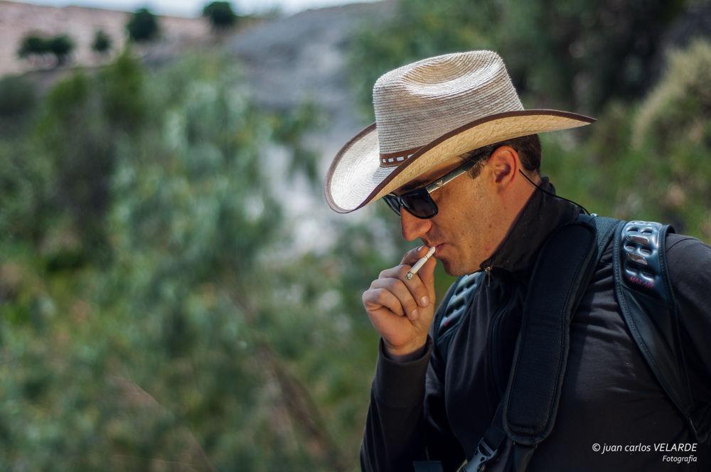 Photo in Portrait #smoke #cigarrette #modelo #arequipa #peru