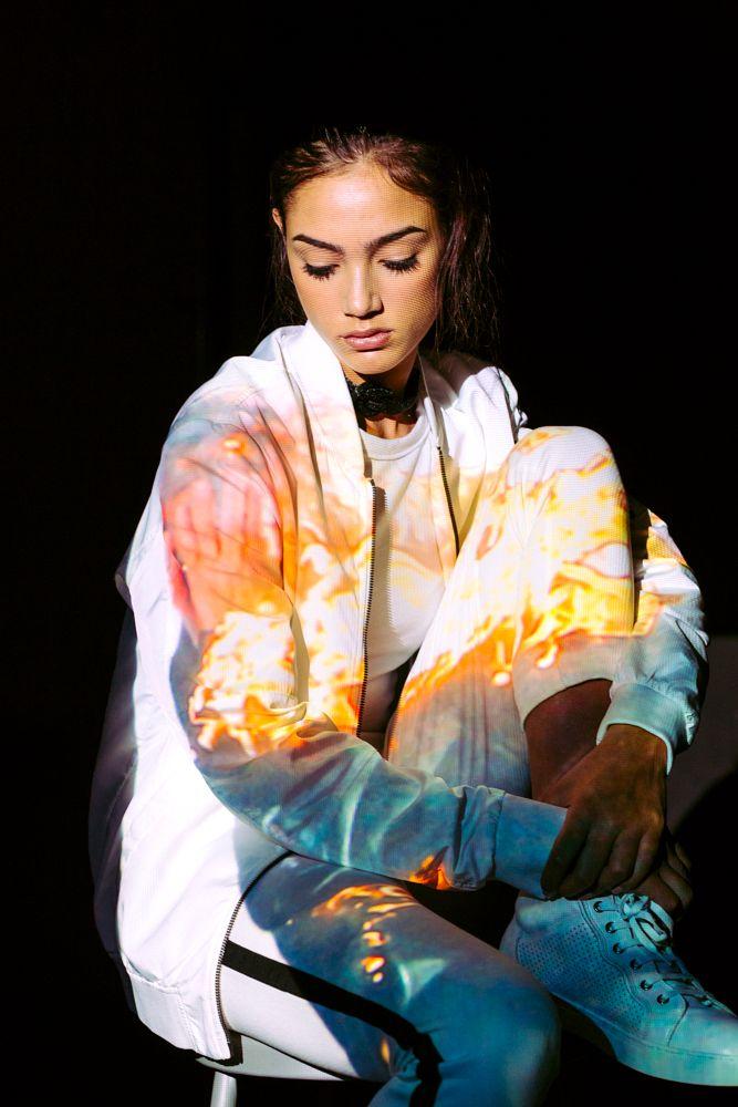 Photo in Portrait #projection #model #girl #youpic #studio #color #white #people #ukraine