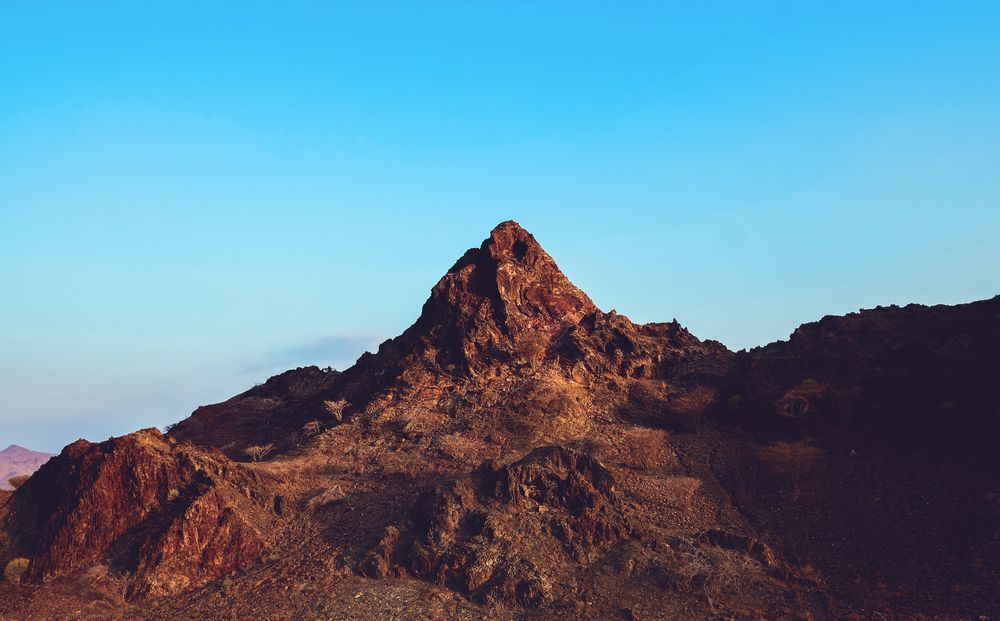 Photo in Landscape #hatta #mountain #mountains #naked #naked mountain #nature #landscape #landscapes #sky #blue #blue sky #new #best #top #place #land #landmark #high #hill #beauty #beautiful #beautiful nature #youpic #photo #photos #photograph #photography #uae #dubai #hatta mountains