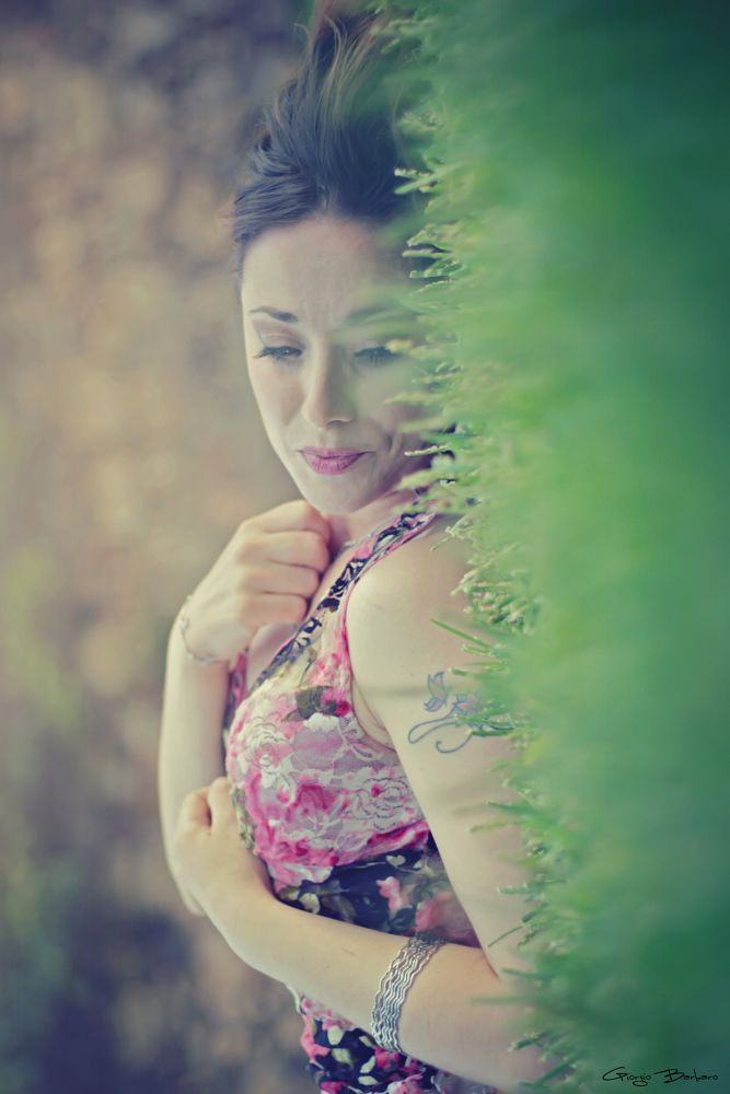 Photo in Journalism #girl #woman #grass #green #fantasy #fashion #model #contest #emotions #sleeping #dreaming #shooting