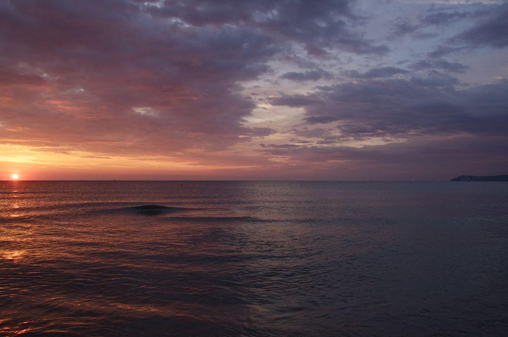 Photo in Landscape #sole #sun #mer #sea #cloud #soleil #spain #spagna