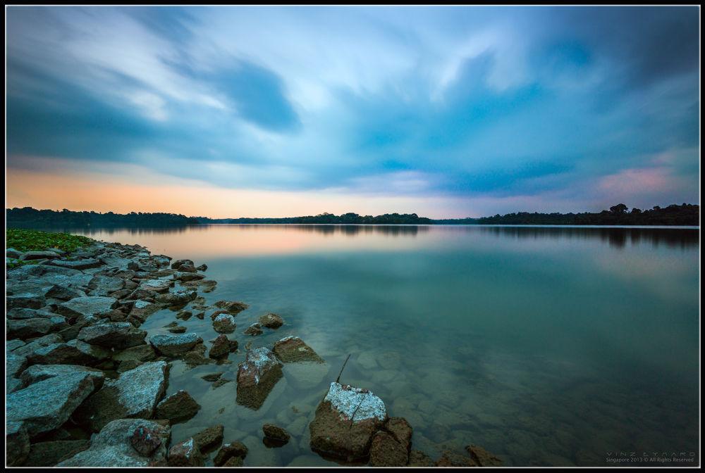 Photo in Landscape #landscape architecture blue