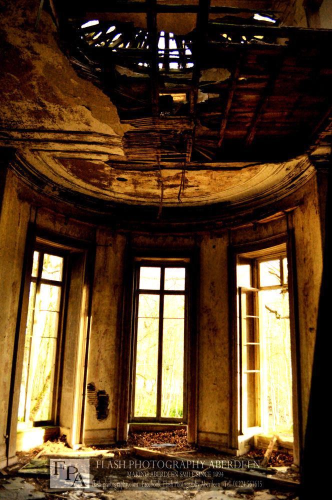 Photo in Architecture #abandoned #mansionn #scotland