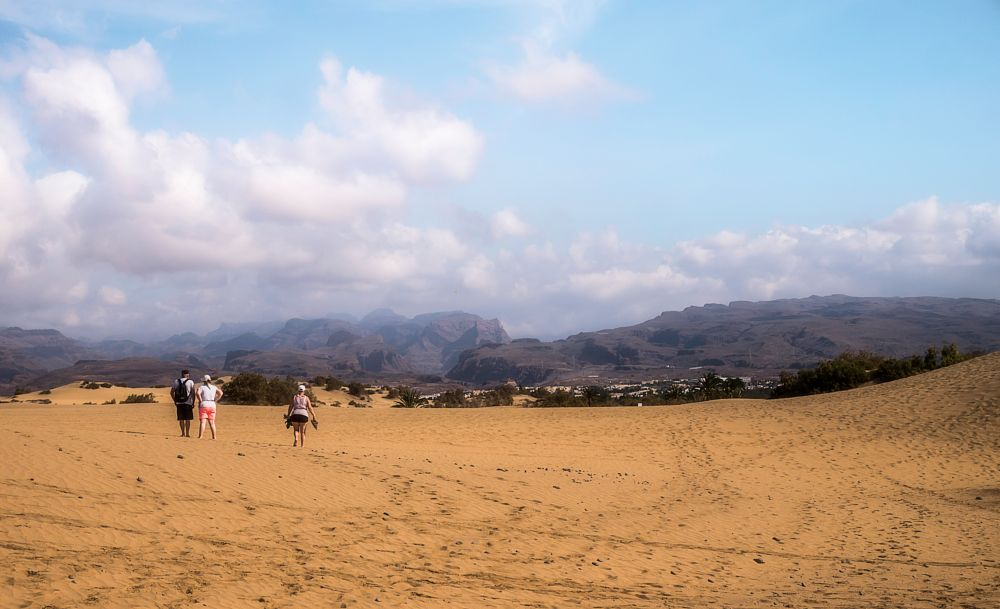 Photo in Landscape #clouds #sand #sky