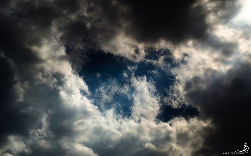 Photo in Random #clouds storm rain nikon d7000