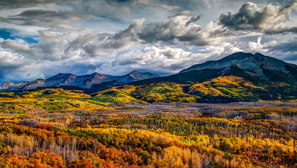 Photo in Landscape #colorado #rockies #rocky mountains #fall #autumn #seasons #united states #crested butte