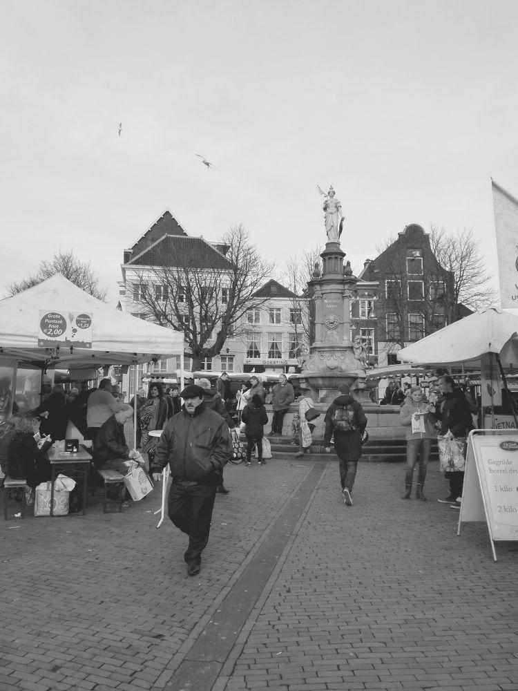 Photo in Cityscape #deventer #overijssel #netherlands #city #market