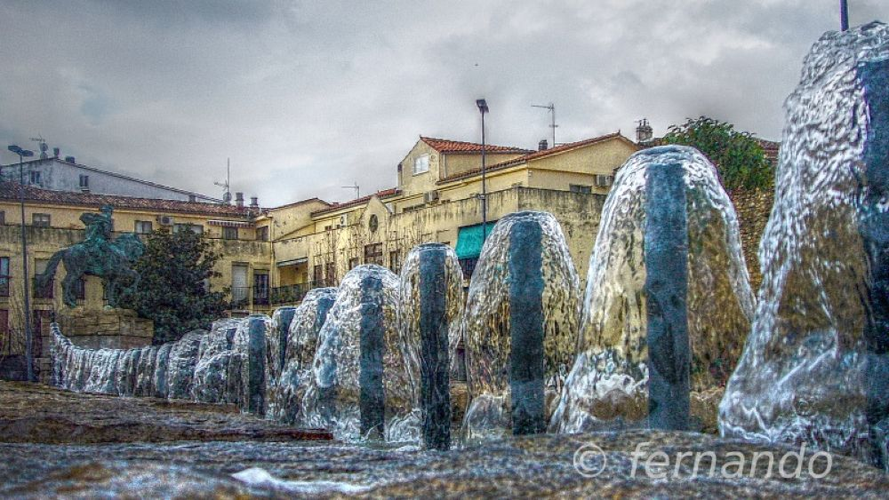 Photo in HDRI #fuente #plasencia