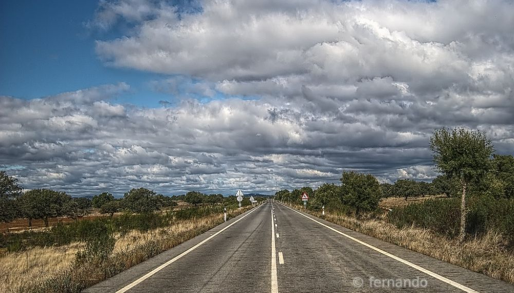 Photo in Landscape #camino #road #hdr
