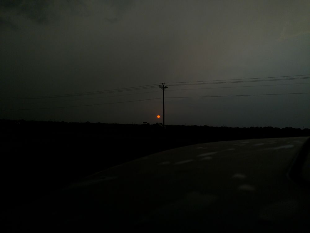 Photo in Landscape #sun #spot #light #ominous #dusk #dark