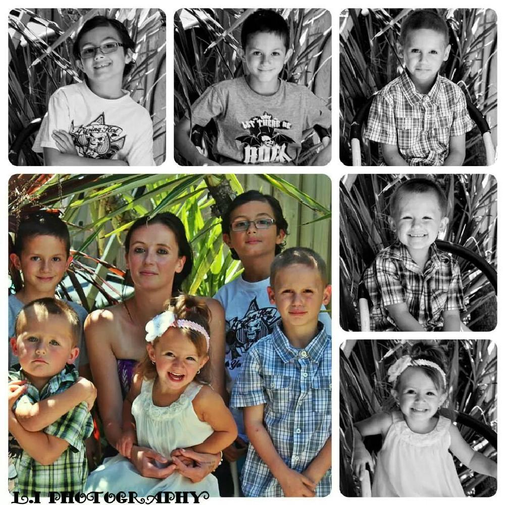 Photo in Family #family #black and white #color
