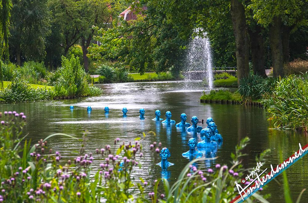 Photo in Fine Art #zoetermeer #art #holland #parc #amsterdamned #zuid-holland #the netherlands #zoetwatermannen #trees #fountain #wilhelminapark #sweet lake city #jaarringen zoetermeer
