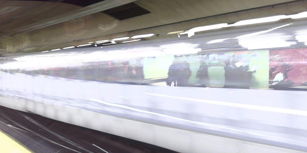 Photo in Travel #subway madrid speed