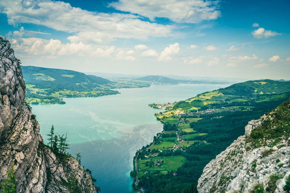 Photo in Landscape #nature #landscape #lake #water #clouds #cloudy #summer #hike #hiking #peak #viewpoint