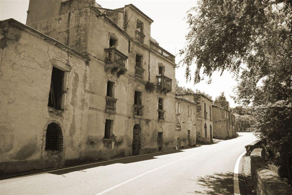 Photo in Random #in #street #sardinian #vecchia #gairo #ghost #village