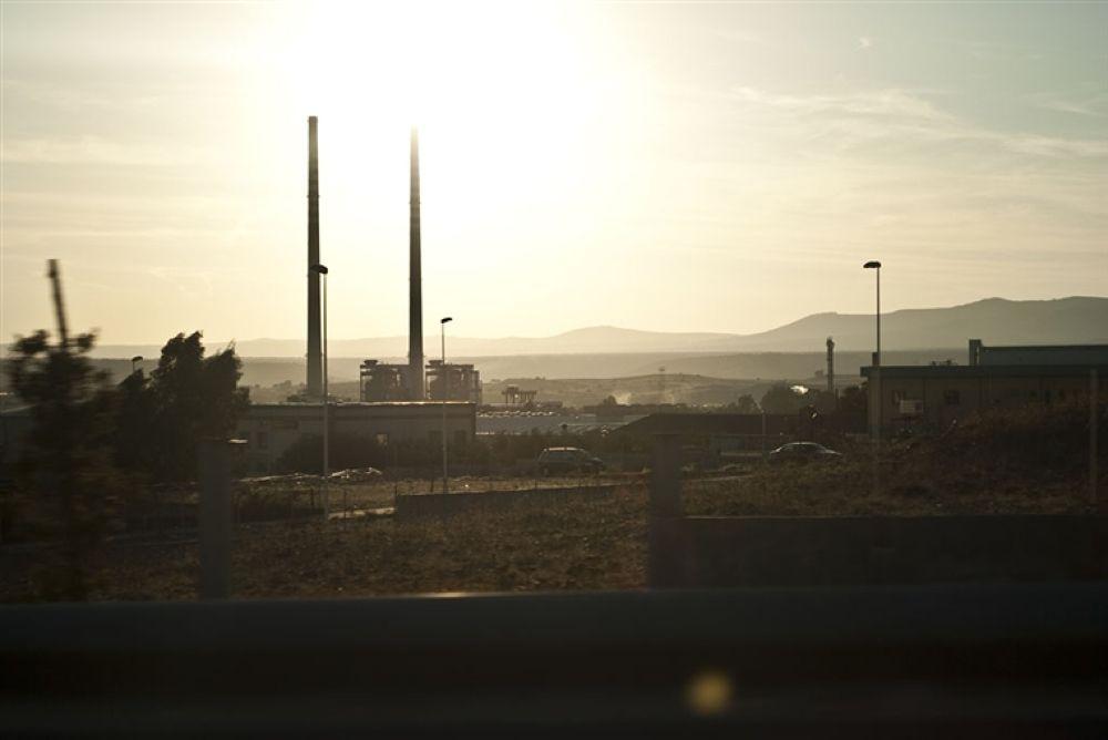 Photo in Random #of #on #sunset #refinery #ottana