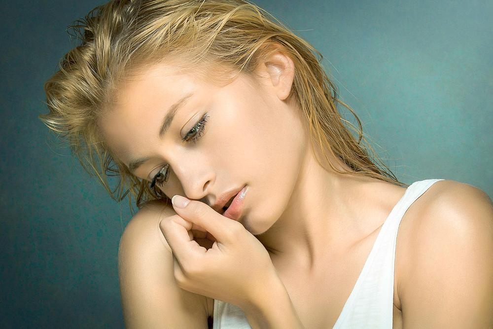 Photo in Portrait #portrait #sensual #soft #wet #hair #woman #girl #cute #sweet #beauty