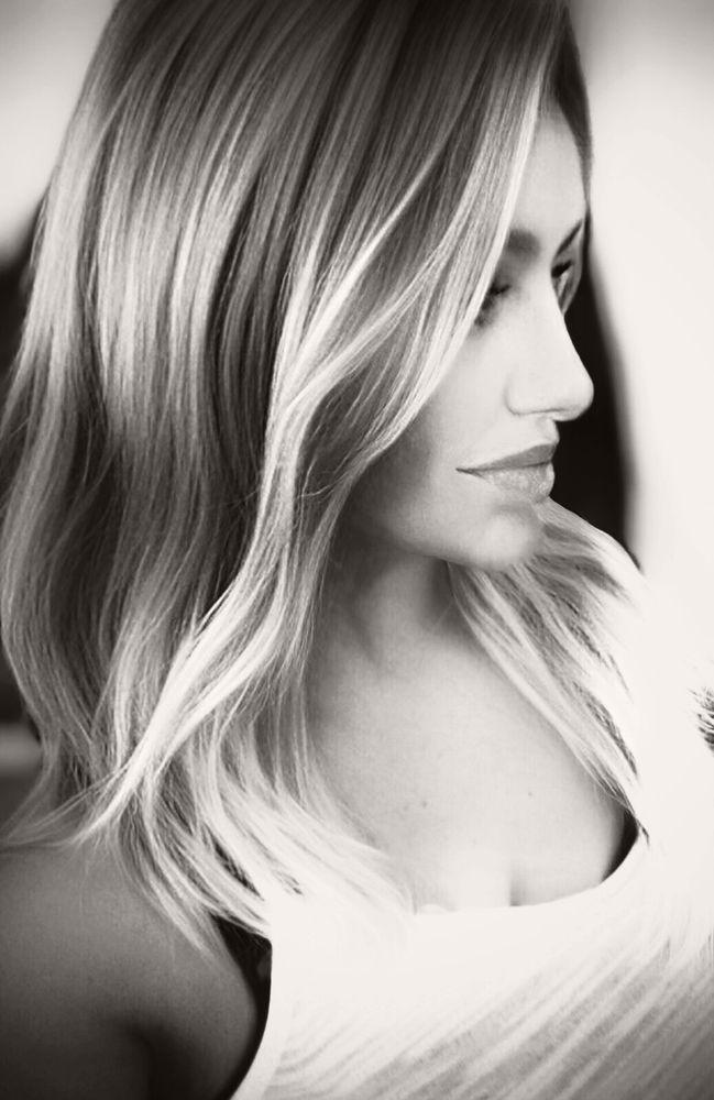 Photo in Black and White #portrait #woman #girl #blonde #monochrome #blackandwhite #photography #face #headshot