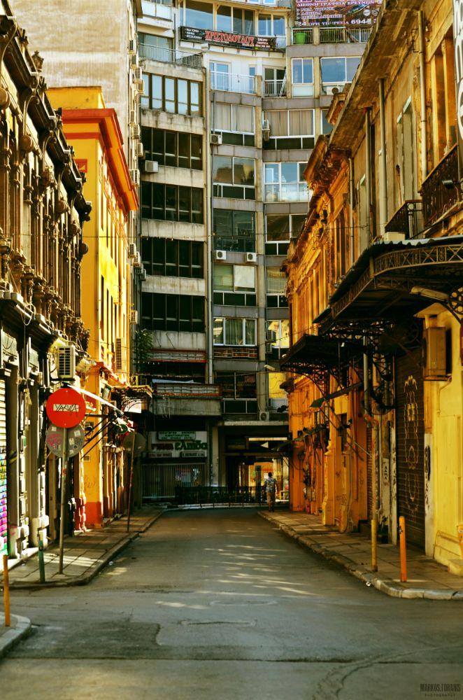Photo in Urban #street #syggrou #valaoritou #city #thessaloniki #greece #urban #road #nikon #d5100 #photography #markostoranisphotography