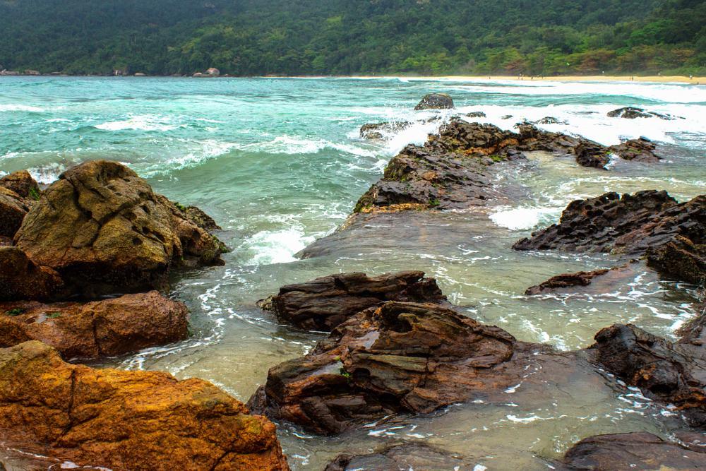 Photo in Landscape #trindade #bech #stone #sea #riodejaneiro