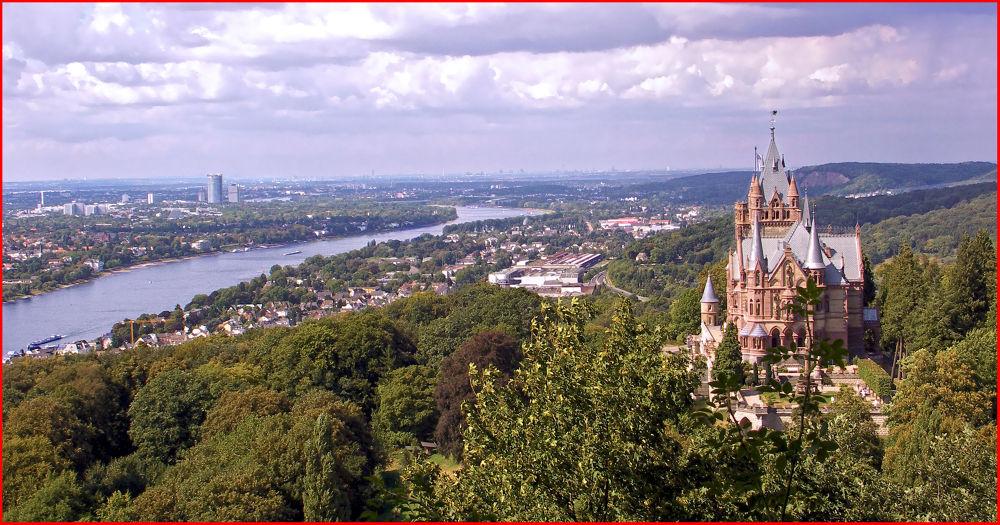Photo in Random #castle #germany #drachenfels #drachenburg
