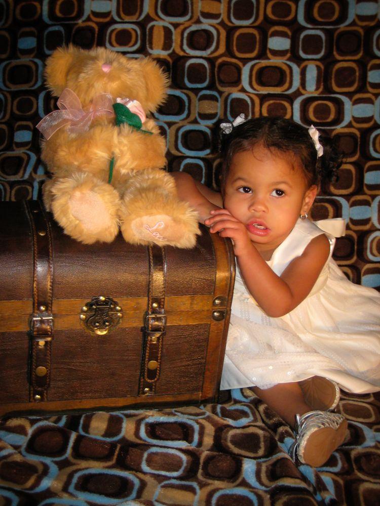 Photo in Portrait #kid #child #portrait #female #girl