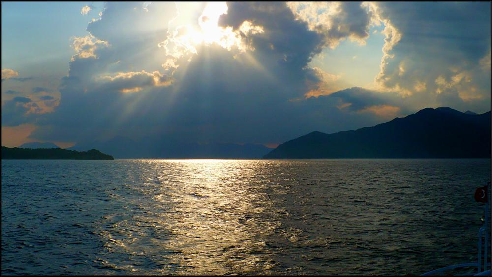 Photo in Landscape #marmaris #turkey #sea #sun #sunset