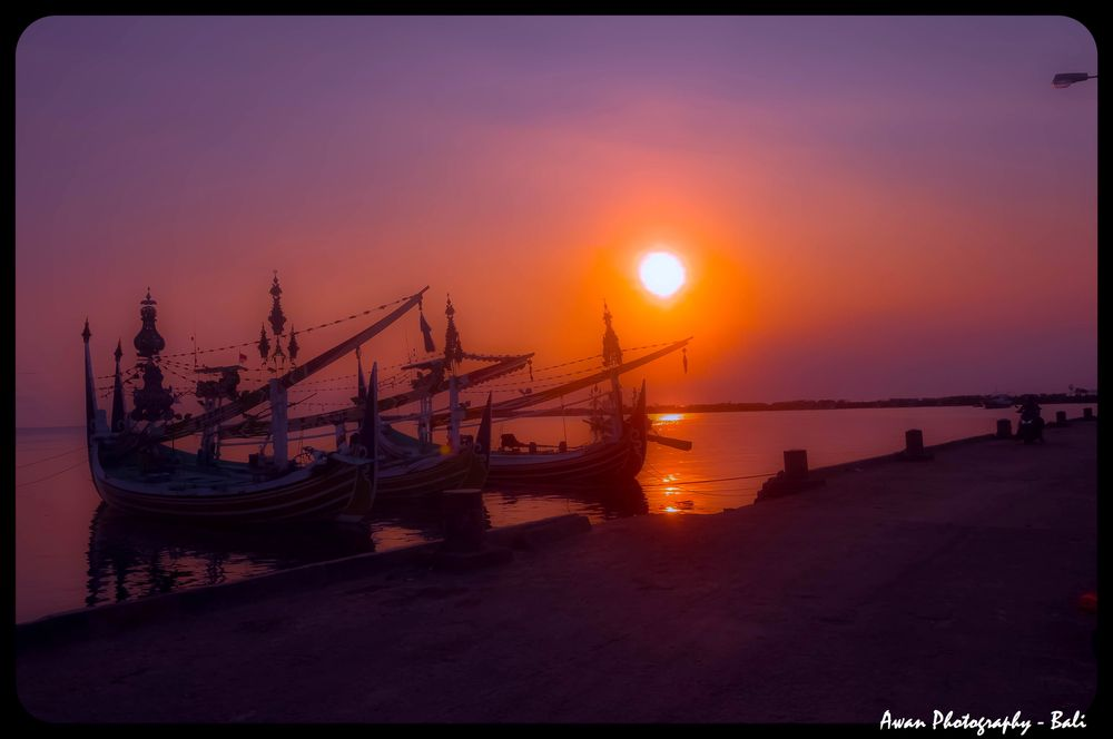Photo in Random #sunset #port #photography #boat #photo #color