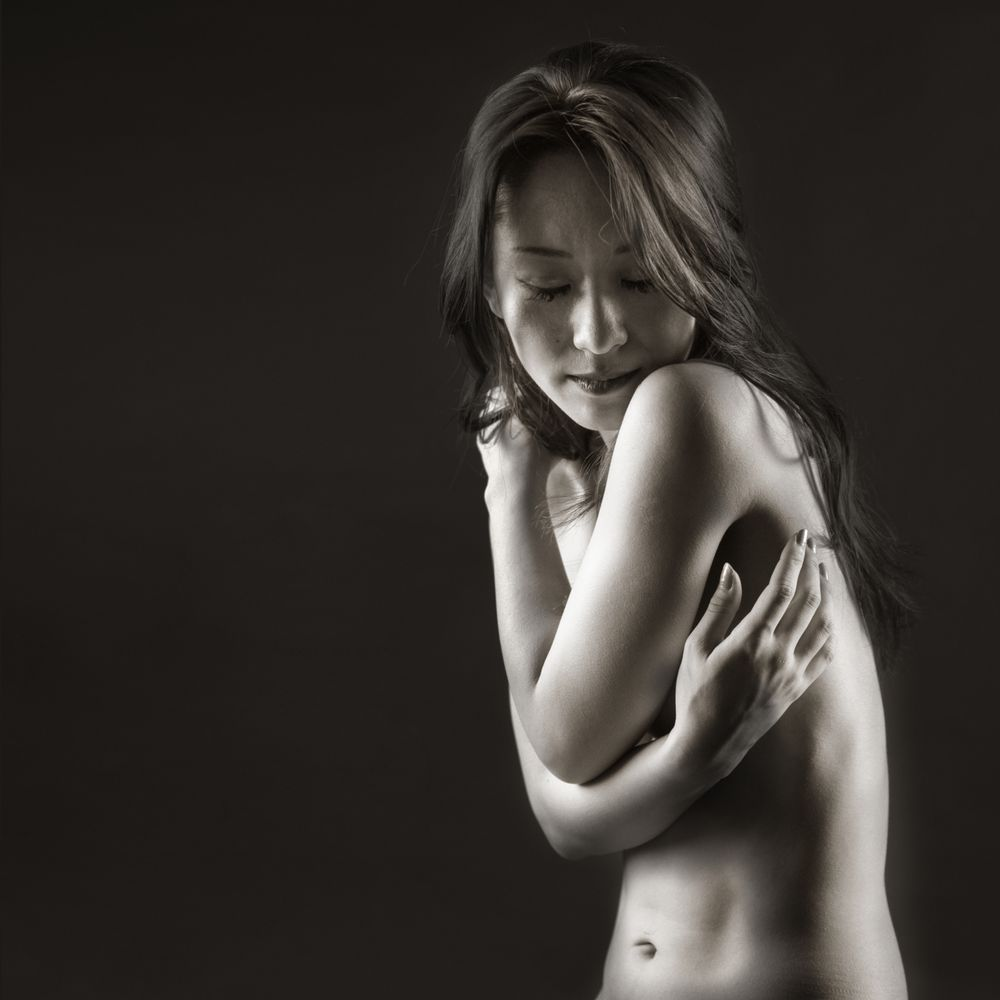 Photo in Black and White #nude #beauty #bw #dance