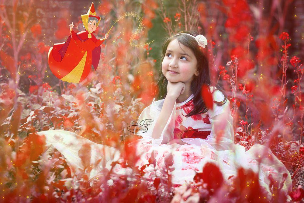 Photo in Portrait #portrait #creative #art #nepal #portraits #children #happy #fun #red #color #beauty